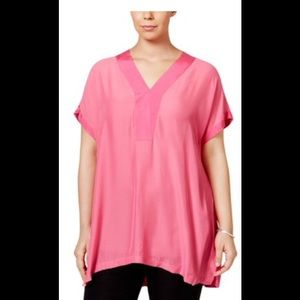 Melissa McCarthy seven hot pink size 3x